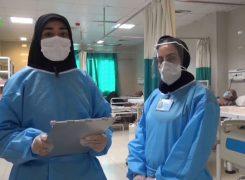 دیدار با پرستاران بیمارستان کوار به مناسبت روز پرستار و شب یلدا