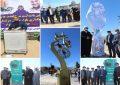 برگزاری مراسم نامگذاری بلوار سردار شهید استوار محمودآبادی و رونمایی از نماد سردار شهید سلیمانی در شهرستان کوار