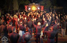 مراسم عزاداری شب تاسوعا اکبراباد