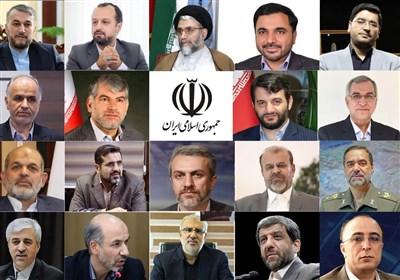 لیست وزرای پیشنهادی رئیس جمهور به مجلس شورای اسلامی + سوابق