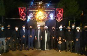 مراسم عزاداری شب هشتم محرم اکبرآباد