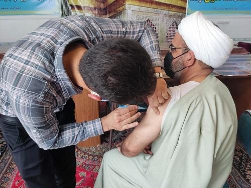 واکسیناسیون امام جمعه اکبراباد