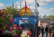 مراسم نمادین پیاده روی اربعین حسینی در شهر اکبرآباد