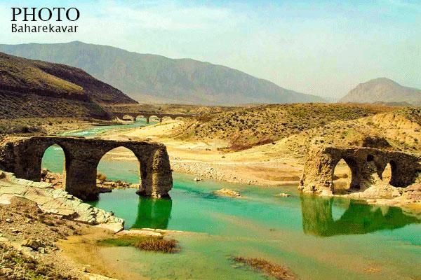 پل تاریخی شهرستان کوار